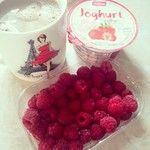 Coffee, food, joghurt