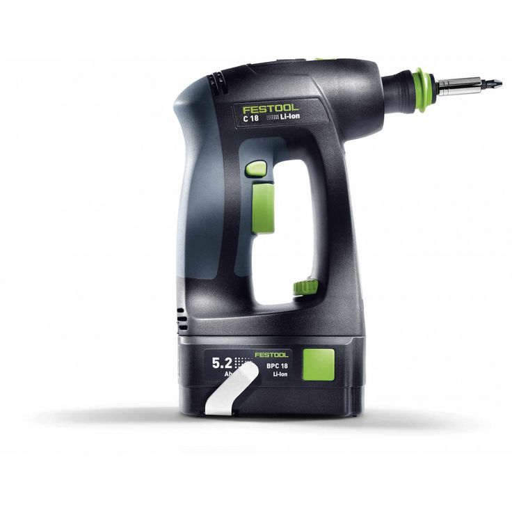 Festool 564619 C 18 Cordless Drill, 18 Volt (Tool Only)