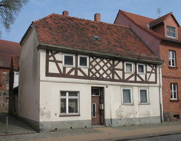 Wohnhaus Ernst-Thälmann-Straße 9 in Putlitz in Brandenburg, Deutschland