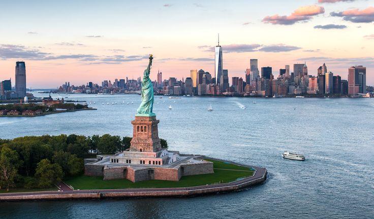 Statue de la Liberté et Ellis Island, New York