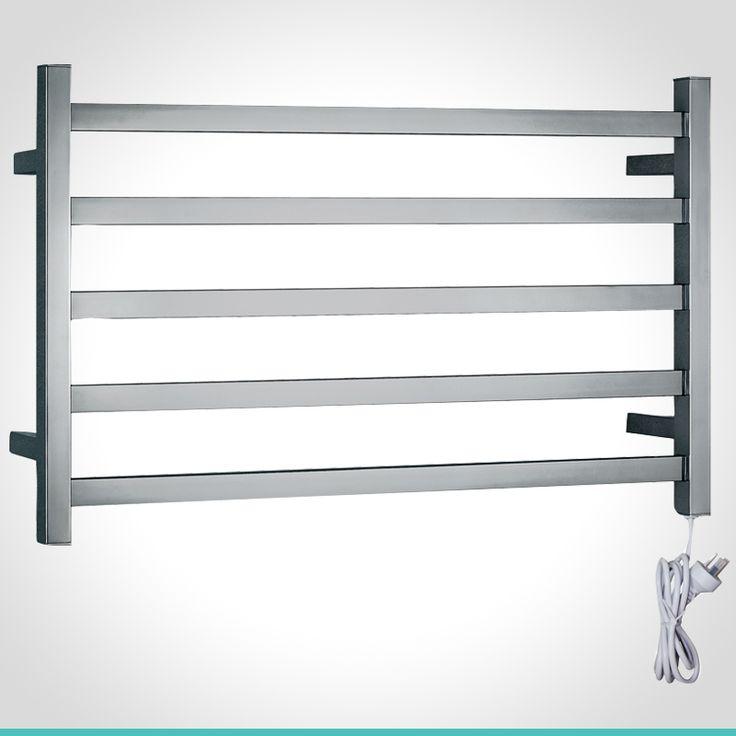 mondella concerto 103w stainless steel 5 bar heated towel rail mondella concerto sleek edge pinterest towel rail towels and bathroom accessories