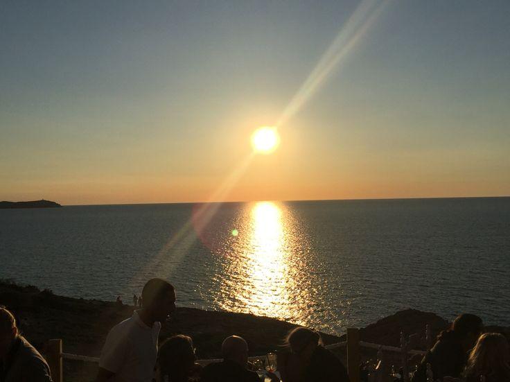 Sunset at la Torre Ibiza