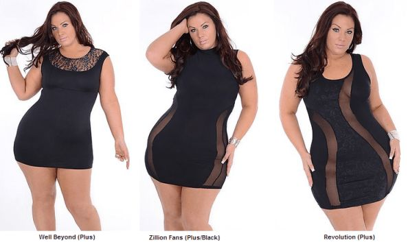 Club Dresses Plus Size Women - RP Dress