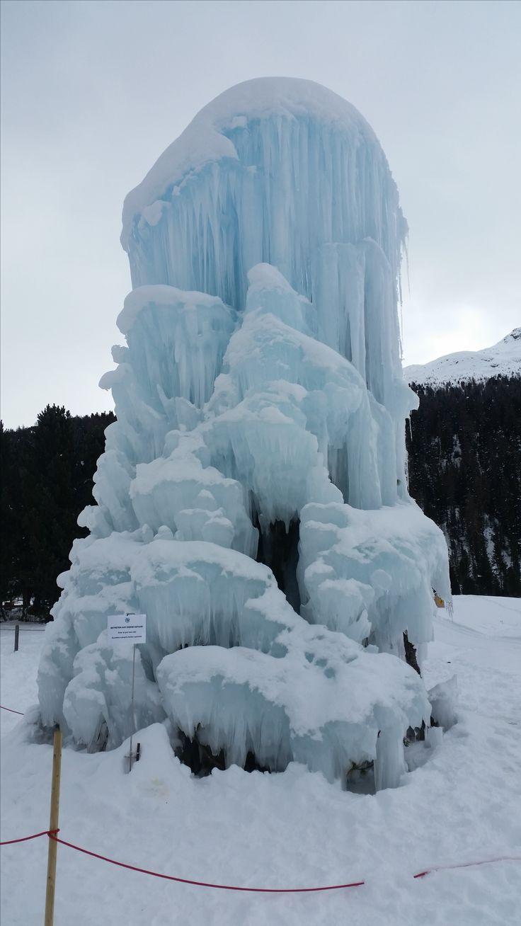 Eisskulptur Laj da Statz