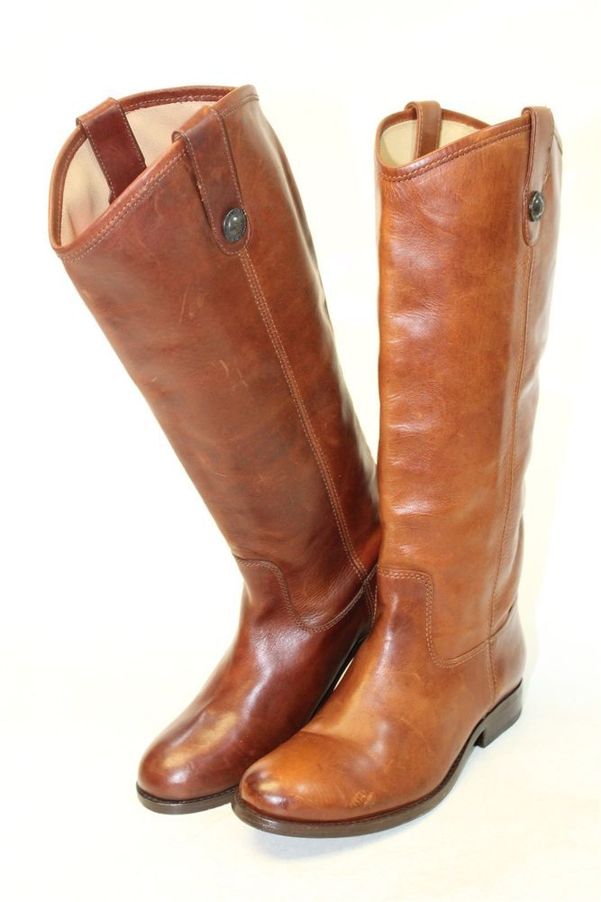 907b0f1ea0c Frye NEW MISMATCH Melissa Button Women 7.5 B Leather Riding Boot ...