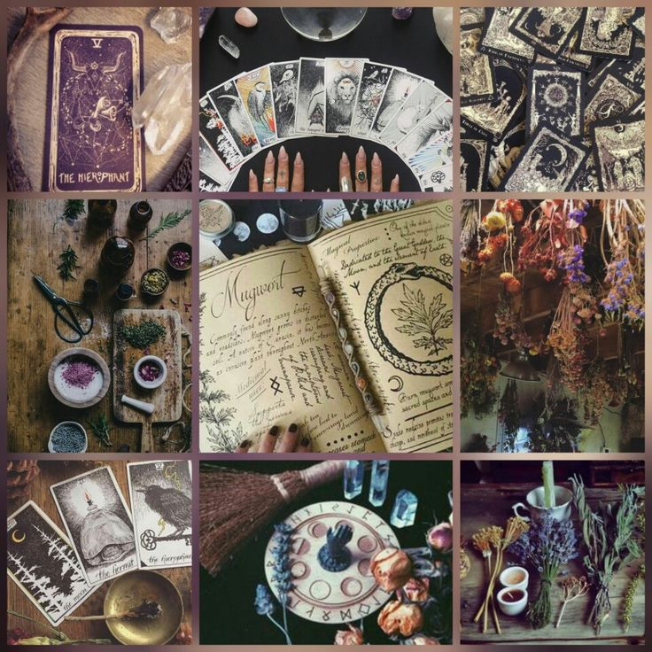Witch Witches Modern Witch Fortune Tellers Purple