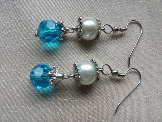 Check out this item in my Etsy shop https://www.etsy.com/listing/233257855/december-birthstone-blue-zircon-earrings