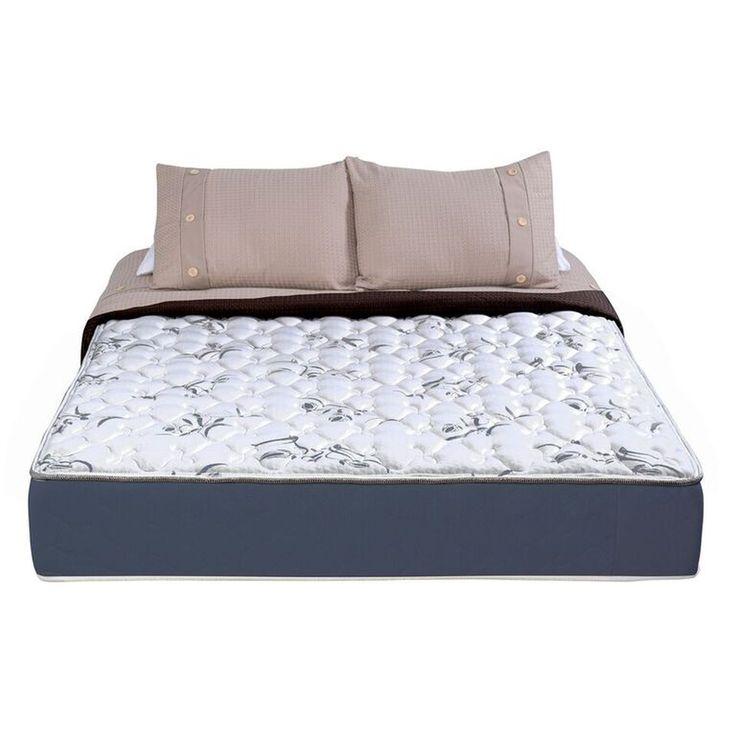 Wolf Corporation Latex Comfort Mattress, Blue