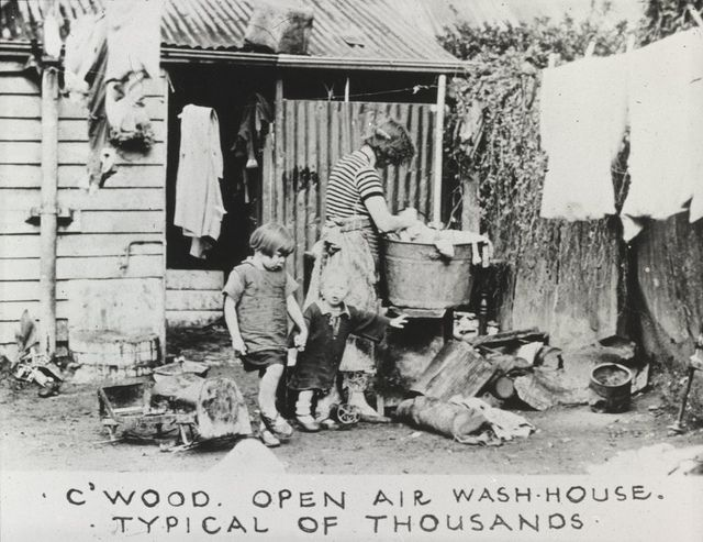 Open air wash house by State Library of Victoria Collections, via Flickr