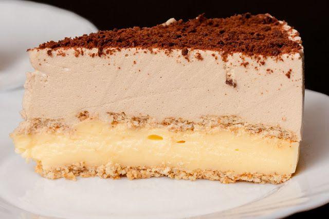 Ciasto cappuccino bez pieczenia   Smakołyki Bereniki