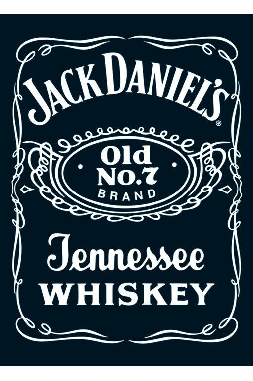 Jack Daniel's Tennessee Whiskey Label