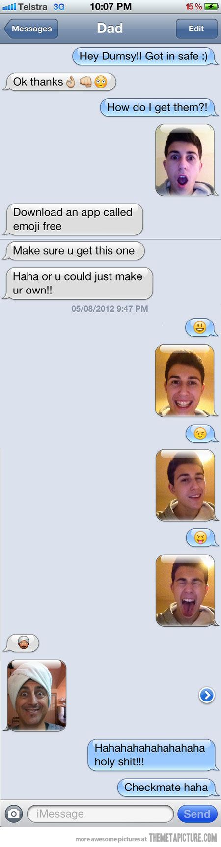 Real emoticons…:) :)