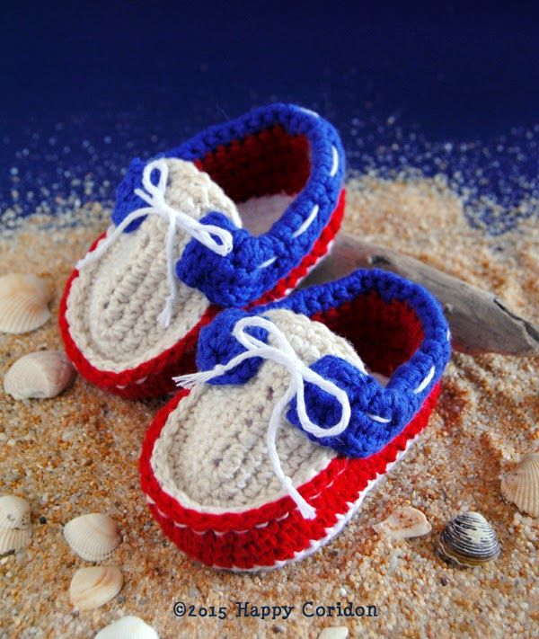 crochet baby shoes http://happycoridon.blogspot.it/2015/04/voglia-di ...