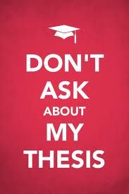Is thesis for masters or doctorate