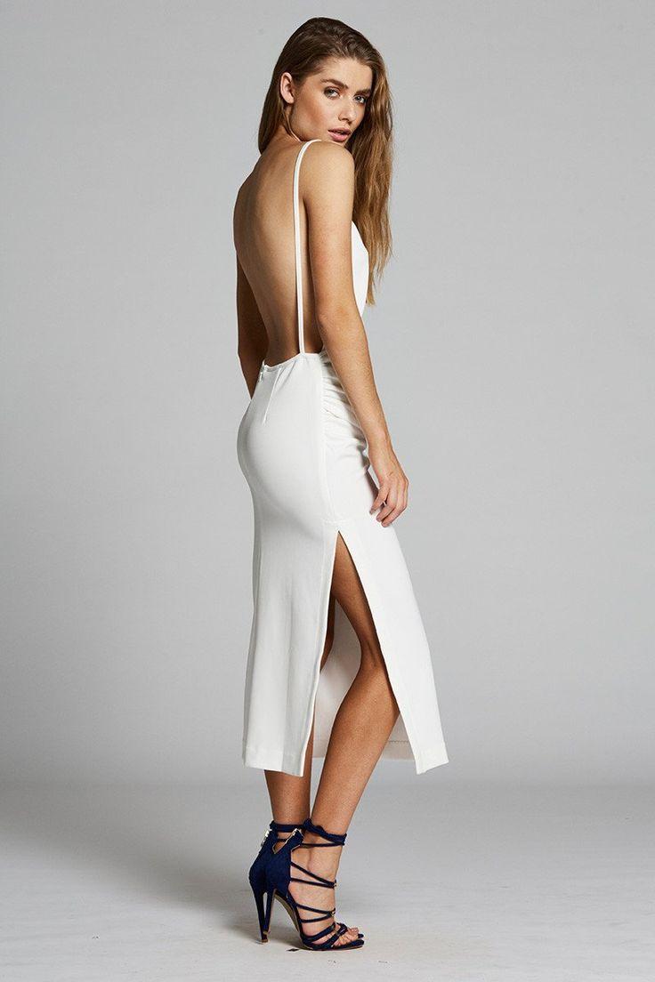 Maurie & Eve - Pointe Maarit Dress White