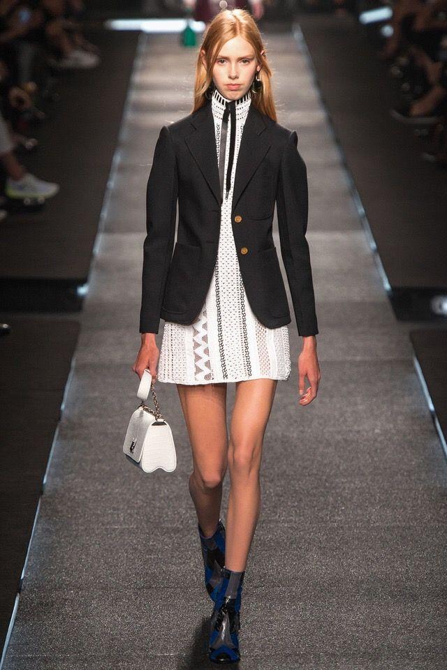 Louis Vuitton S/S 15 #PFW High necks