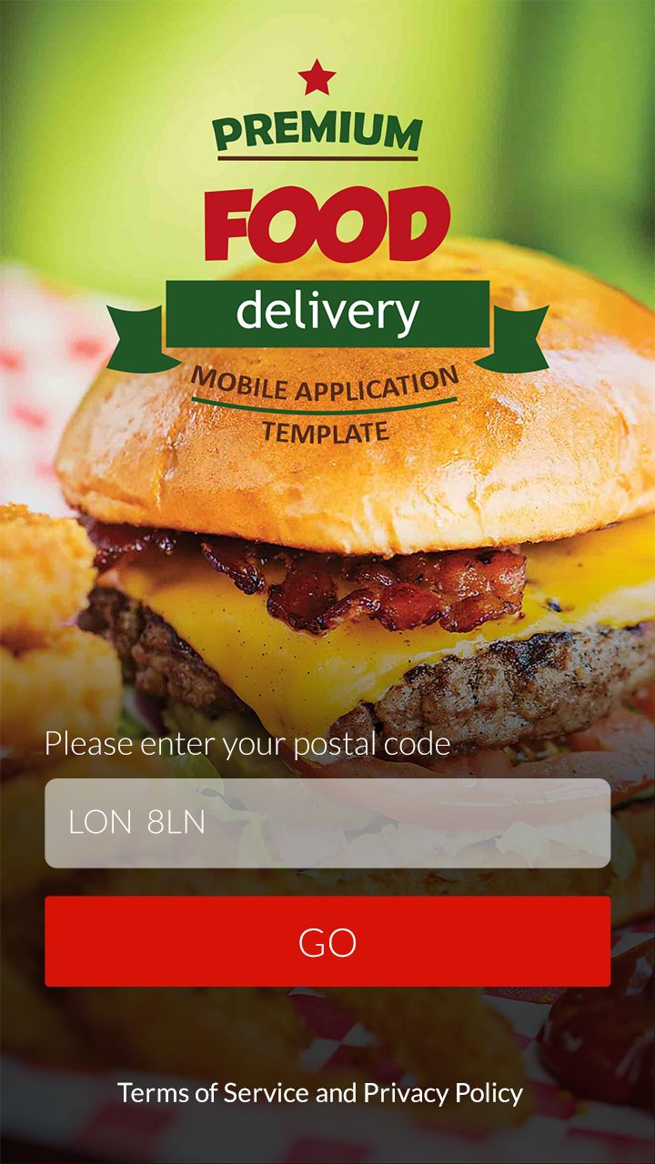 Food Delivery APP on Behance