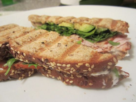 Turkey & Avocado Panini | Paninis, Panini Recipes and Turkey