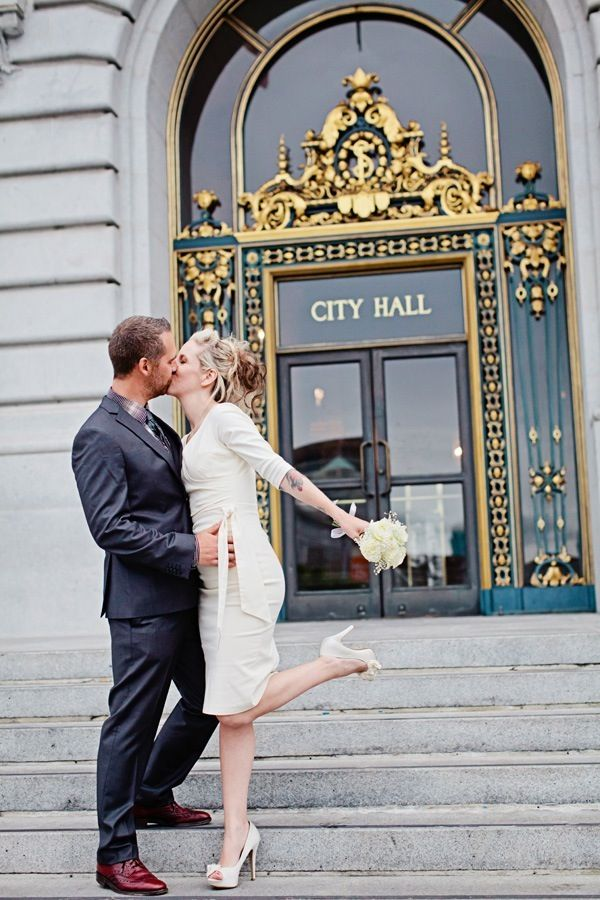 San Francisco City Hall Wedding By Indu Huynh Photography