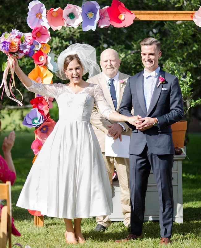 Everything About This Cheery Wedding Will Make YouSmile