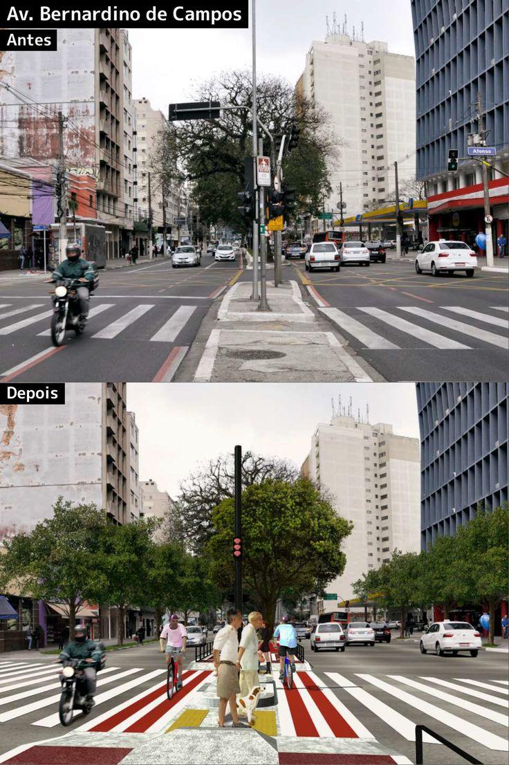 Conheça em detalhes a futura ciclovia da Av. Paulista, em São Paulo