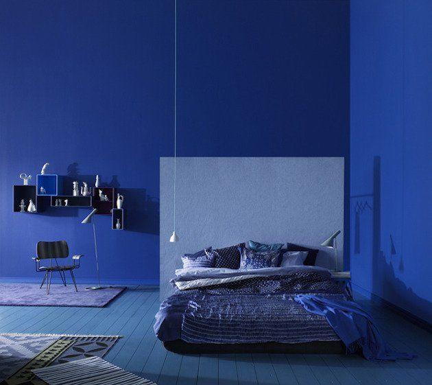 17 meilleures id es propos de chambres bleu cobalt sur for Decoration marine d interieur