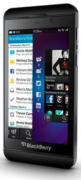 Características del BlackBerry Z10: BlackBerry Z10