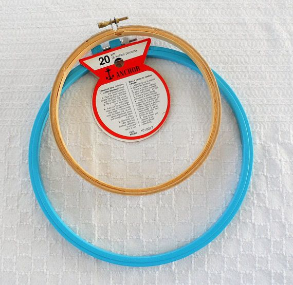 EMBROIDERY HOOPS/8 Anchor Embroidery Hoop/6 Wooden