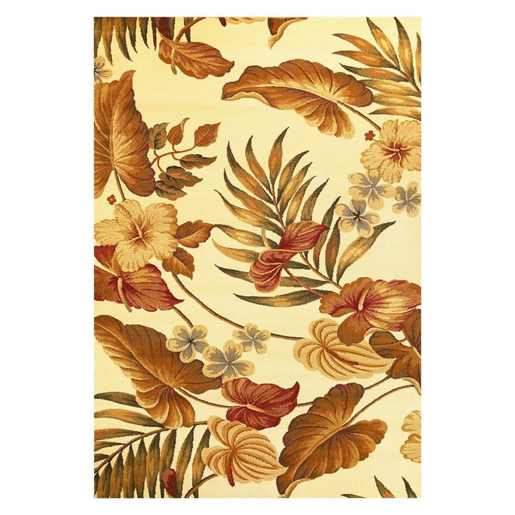 tropical area rugs 6 x 9 cream cheap sale