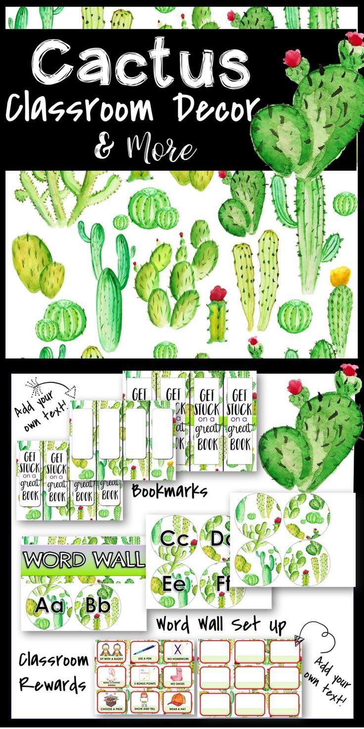 Classroom Decoration Cactus ~ Best classroom decor images on pinterest st grades