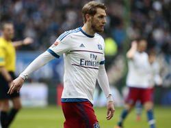 Aaron Hunt steht wieder im Mannschaftstraining des Hamburger SV