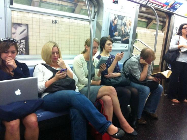 ニューヨークの地下鉄で見た風景01