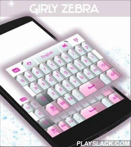 """Girly Zebra Keyboard  Android App - playslack.com ,  Meisjes , onze zeer creatieve ontwerper team kwam met nog een andere verbazingwekkende thema : girly ZEBRA TOETSENBORD ! DOWNLOAD Girly Zebra Keyboard NU en maak uw smartphone toon uw wildere kant met de geweldige originele zebrapatroon en lichte kleuren die ervoor zorgt dat u geniet van uw smartphone nog meer !- Om te installeren, volg de 3 eenvoudige stappen: Openen na downloaden , drukt u op """"Instellen als Active Theme"""" en selecteer het…"""