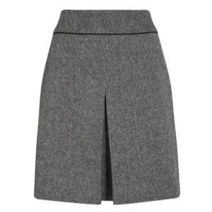Твидовая юбка 5-015, зеленая
