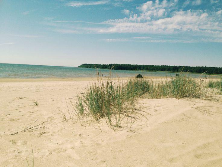 Yyteri beach, Pori, Finland June 2013