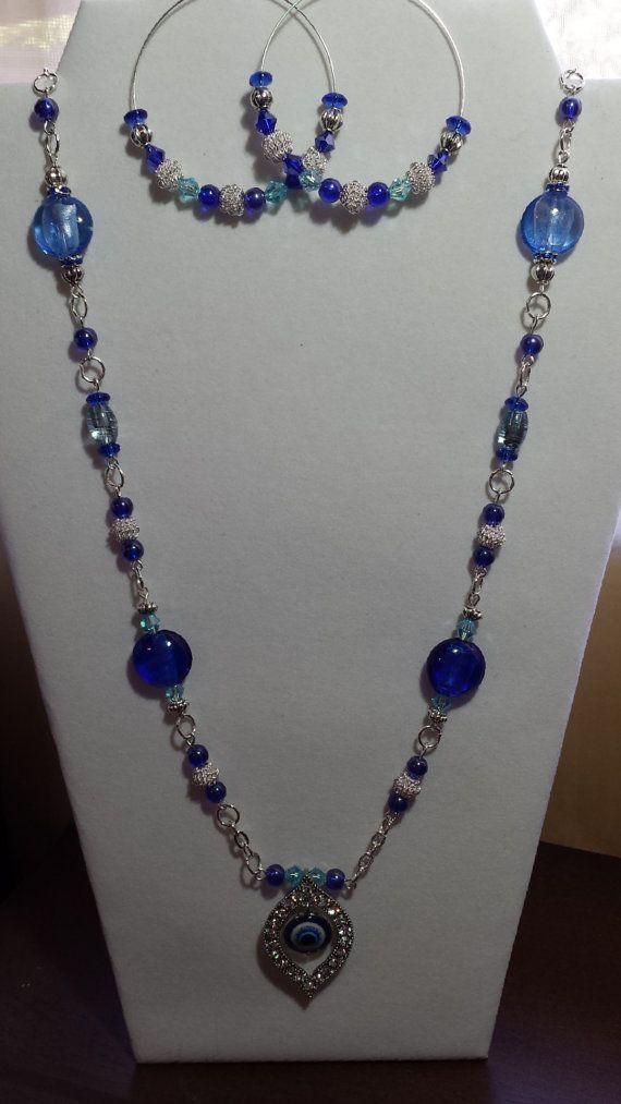 Hey, I found this really awesome Etsy listing at https://www.etsy.com/listing/165987820/goodluck-eye-necklace-set