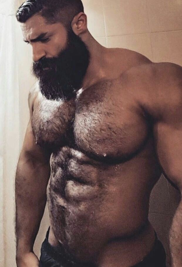 Naked chubby musclemen images images 609
