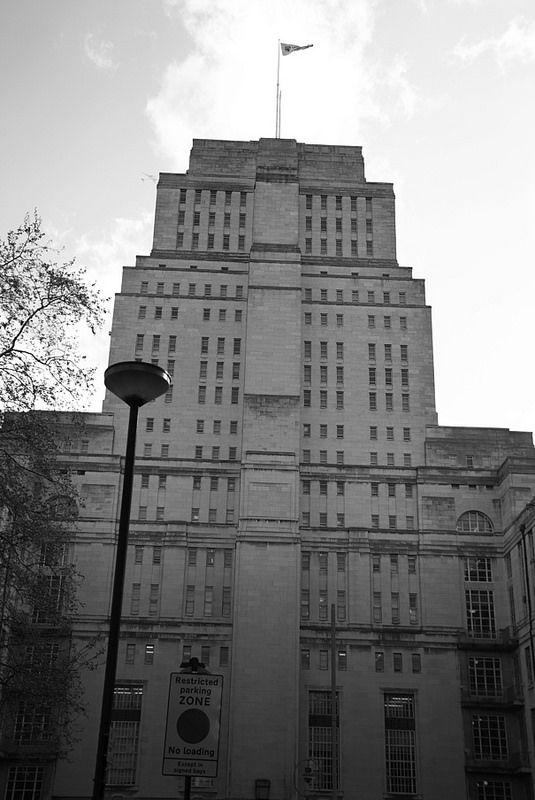 Senate House, Malet Street, Bloomsbury, London WC1, 14th April 2014