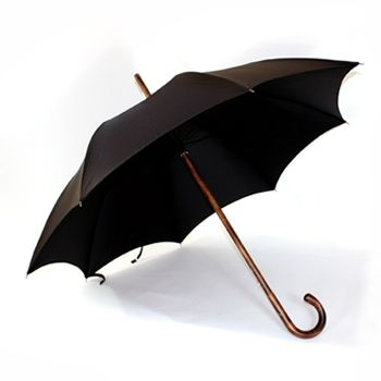James Smith & Sons Ltd  Maplewood Solid Stick Umbrella