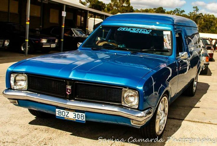 Holden ht panel van awesome colour