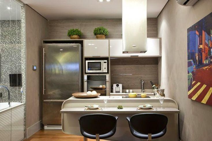 Cozinhas Pequenas, Modernas e Planejadas – veja modelos e dicas!