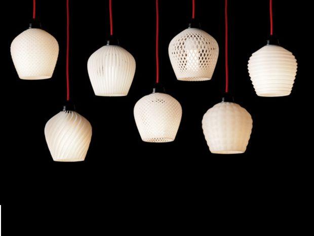 L'impression 3D pour fabriquer des lampes par Samuel N. Berner