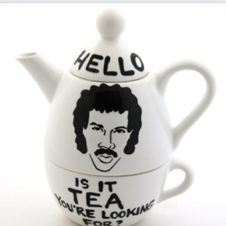 Lionel Richtea Hello is it tea you're looking for.