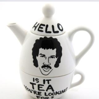 Lionel Richtea Hello is it tea you're looking for.