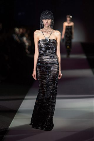 Runway.  One & Only. Armani Retrospective.