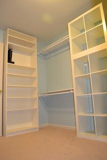 1000 images about billy bookcase hack on pinterest for Bookcase closet