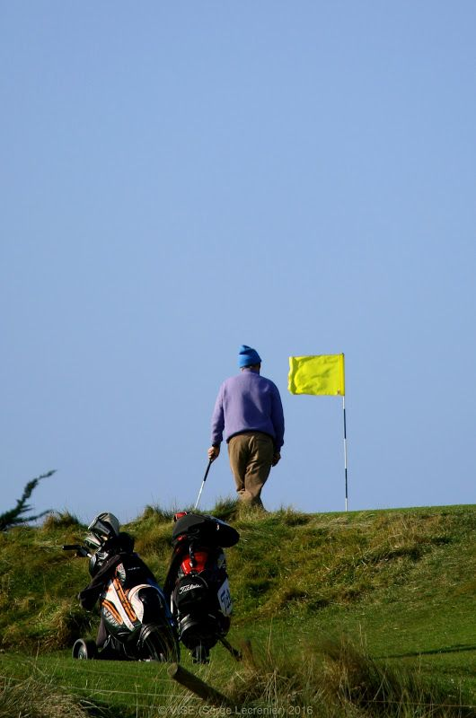 'Waiting for the 19th Hole' Corballis Links Golf Club - Donabate, Co Dublin - Ireland   More pictures on www.vise.pictures   #golf #pictures #topVISE #sport #bluesky #outside #flag #activity #outsideactivity