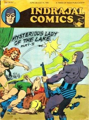 Phantom Series - From Indrajal Comics