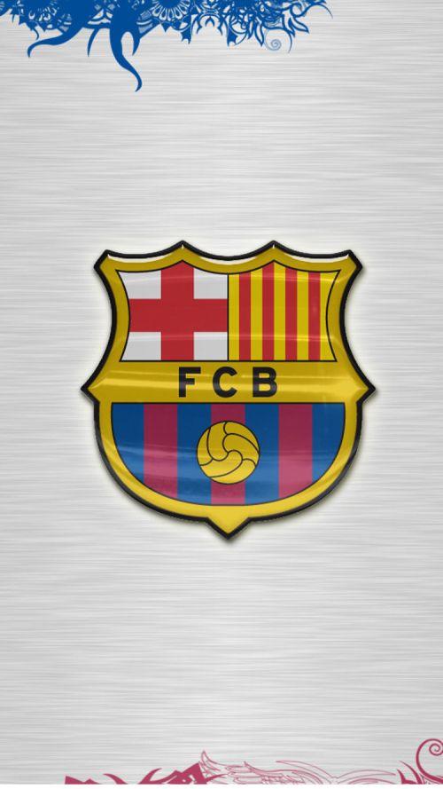 File attachment for Apple iPhone 6 HD Wallpaper - Barcelona FC Logo