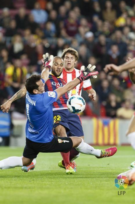 Barcelona 4-1 Almería http://www.repasodeportivo.com/2014/03/un-descafeinado-barca-puede-con-el.html | Foto: LFP.es